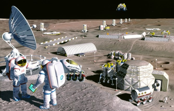 A Moonbase