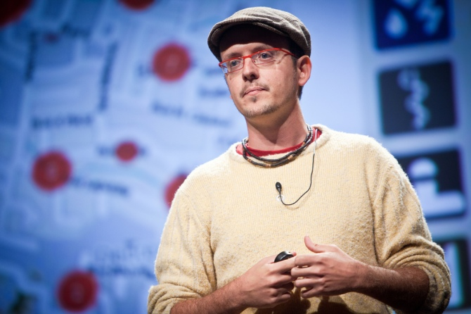 Digital humanitarian Patrick Meier is turning to the crowd to process Big Data in a crisis. Image by Kris Krug.